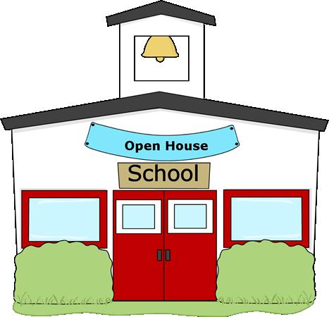 Open house school clip art clipart