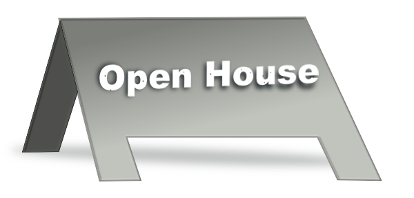 Open house sign clip art at vector clip art