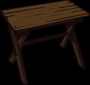 Picnic table clip art at vector clip art