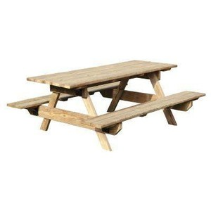 Picnic table clipart 14
