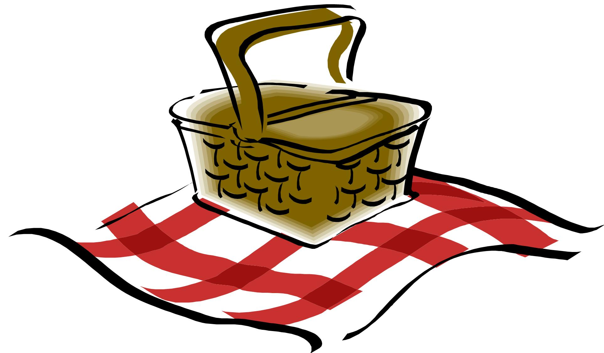 Picnic table clipart 16