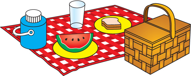 Picnic table clipart 19