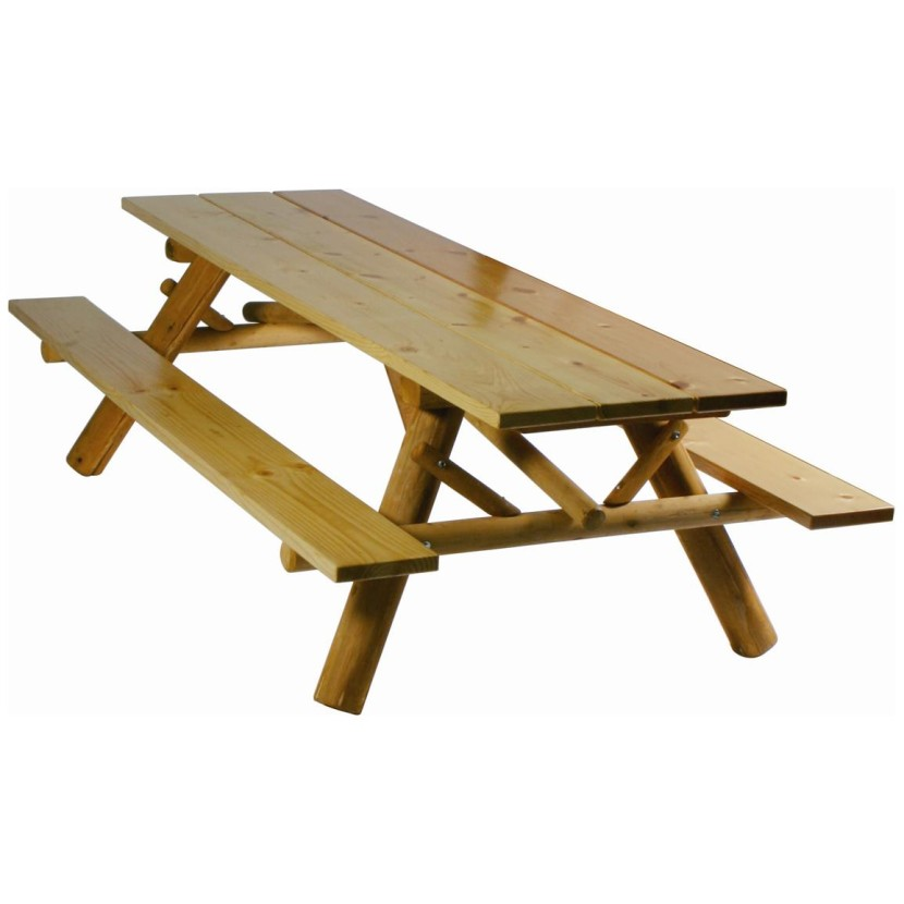 Picnic table clipart 7