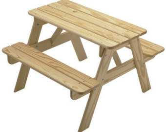 Picnic table clipart 9