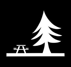 Picnic table picnic symbol clip art at vector clip art