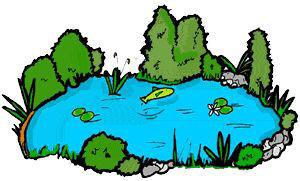 Pond clip art free clipart images