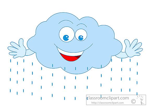 Rain cloud clip art gallery image