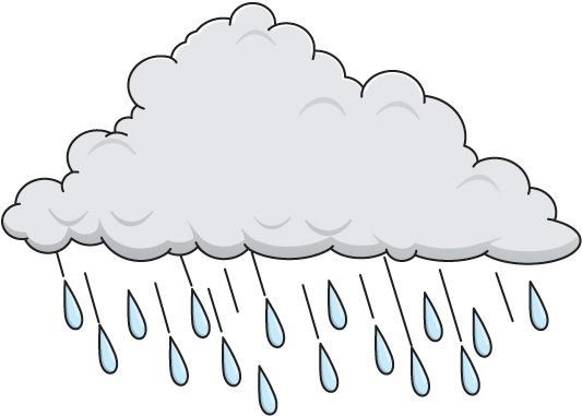 Rain clouds clipart free images 2 2