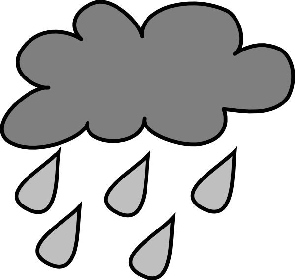 Rain clouds clipart free images 5
