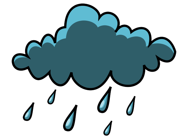 Rain clouds clipart free images
