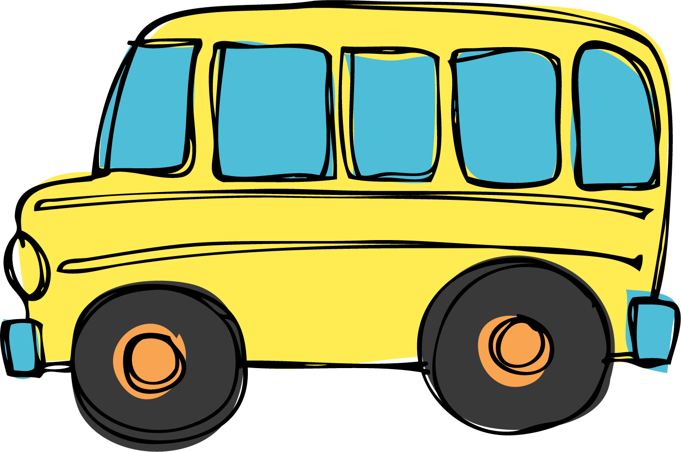 School bus  black and white school bus clip art black and white free clipart 17