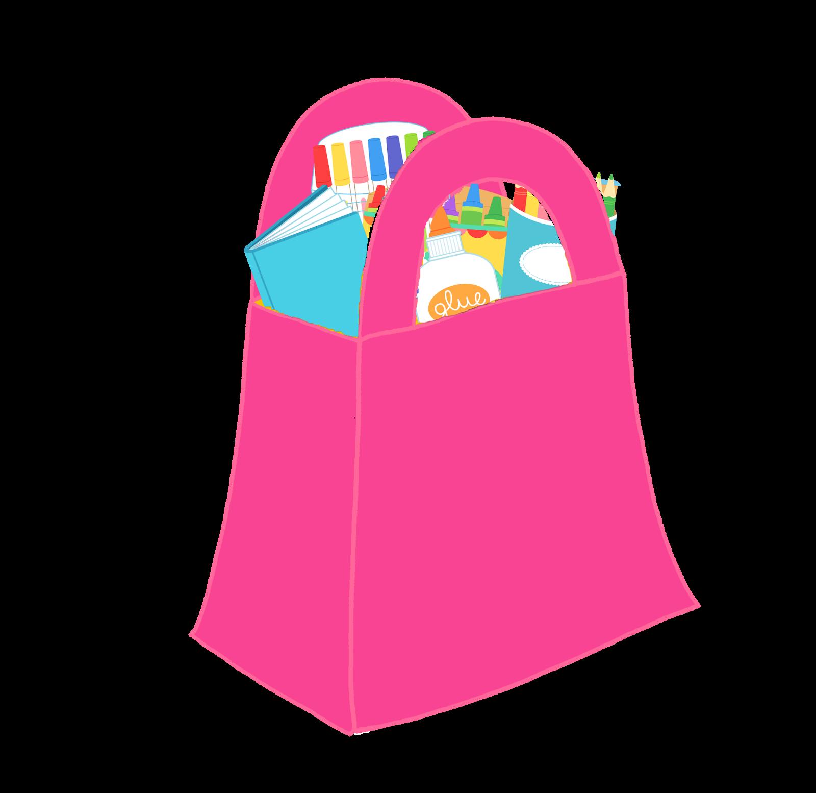 Shopping bags cute shopping bag clipart 2