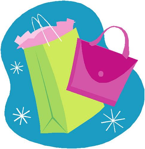 Shopping bags cute shopping bag clipart 3