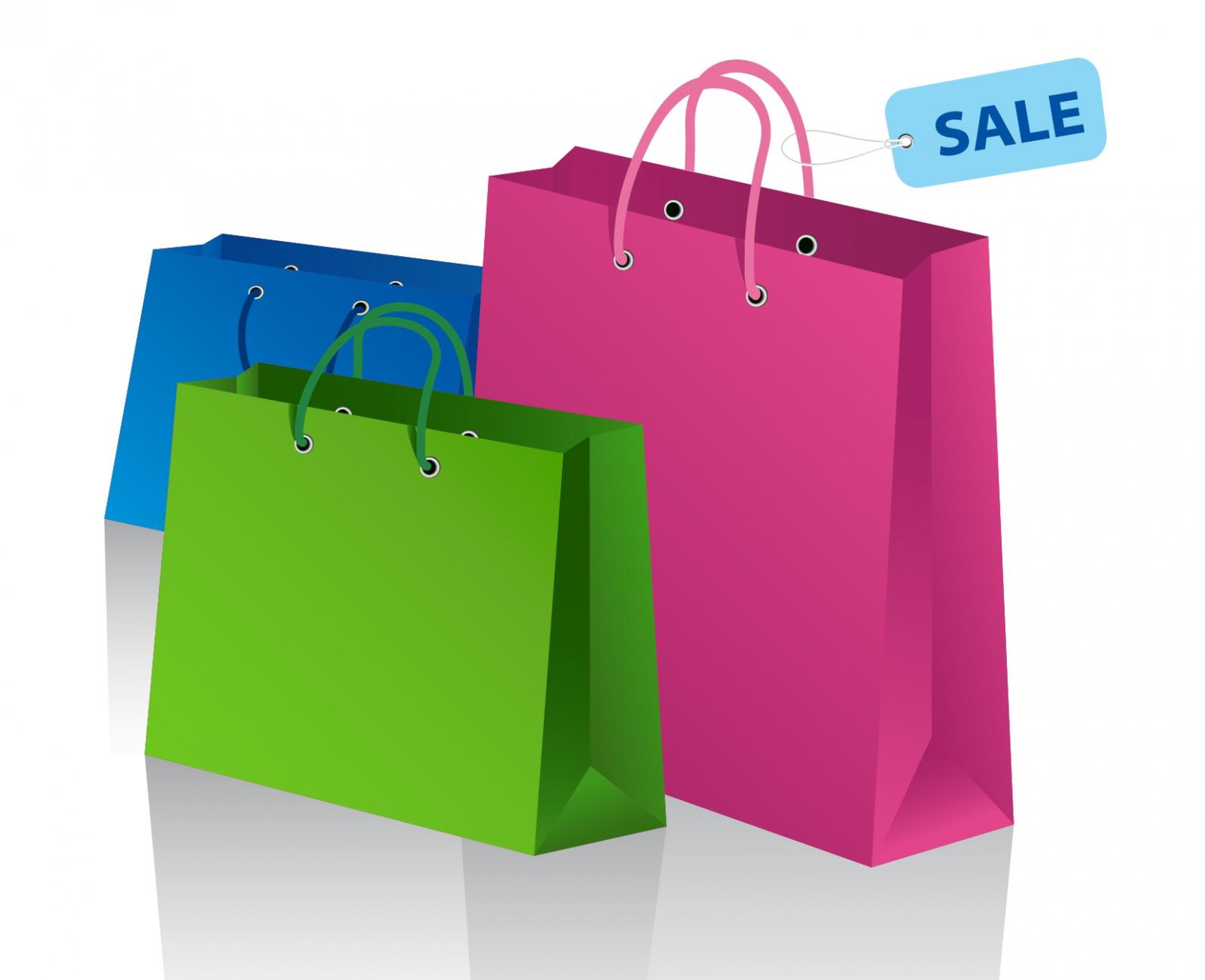 Shopping bags shopping bag clip art clipart photo