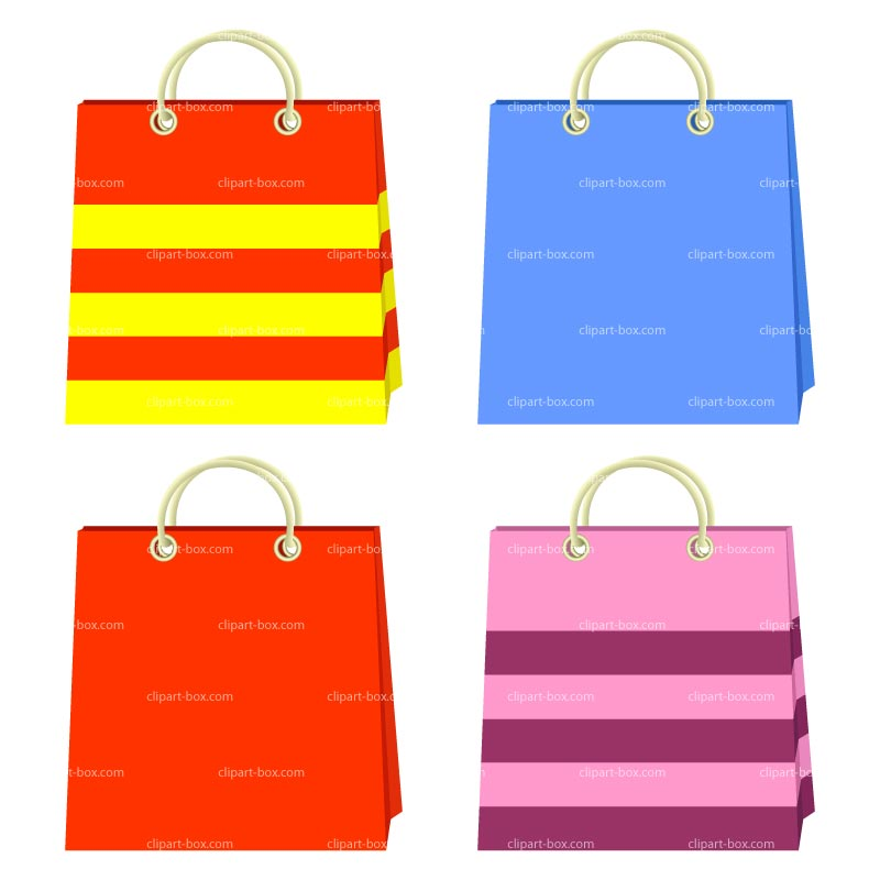 Shopping bags shopping bag clipart 3