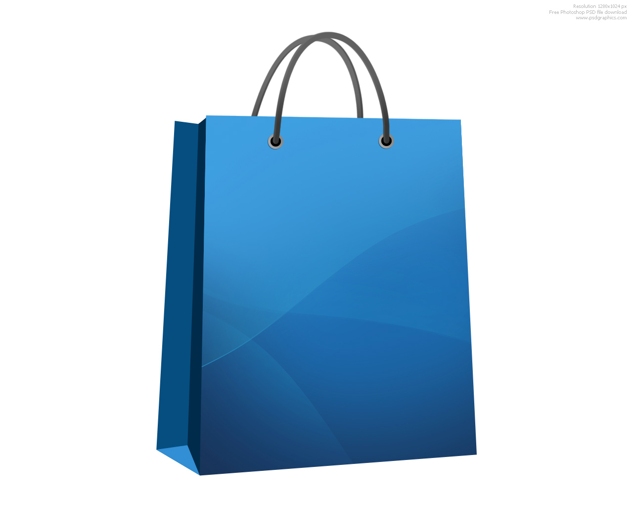 Shopping bags shopping bag clipart 5