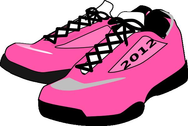 Tennis shoe cliparts the