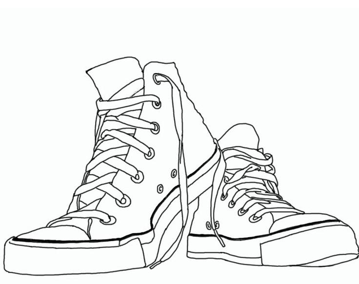 0573aca37769a8 Tennis shoe converse shoes clipart clipartfest - WikiClipArt