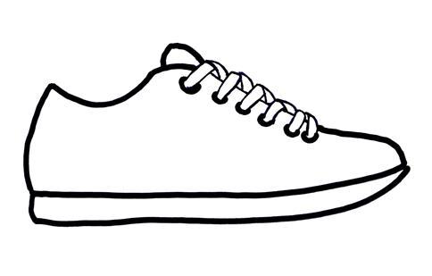 Tennis shoe free shoe clipart pictures
