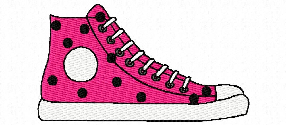 Tennis shoes clip art hostted