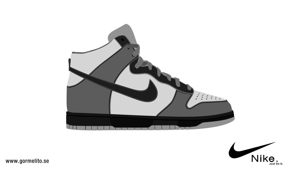 Tennis shoes clipart black and white free 2 4