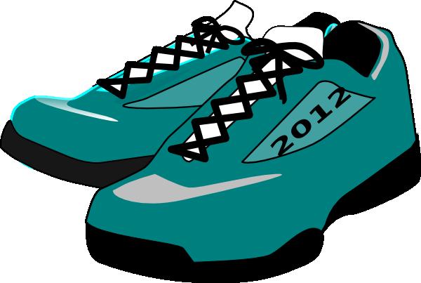 Track shoe clip art 2