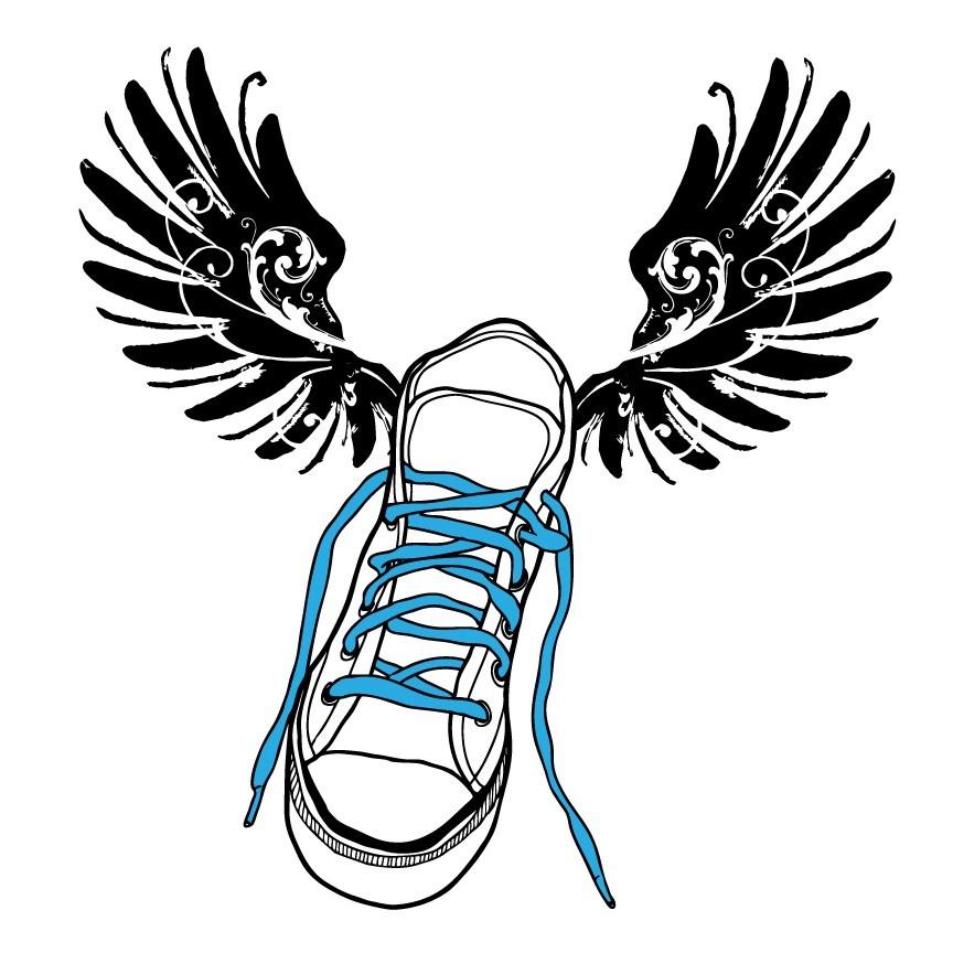 Track shoe clip art