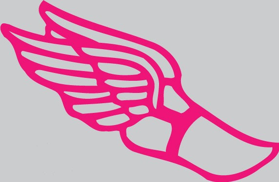 Track shoe with wings 7 clipart