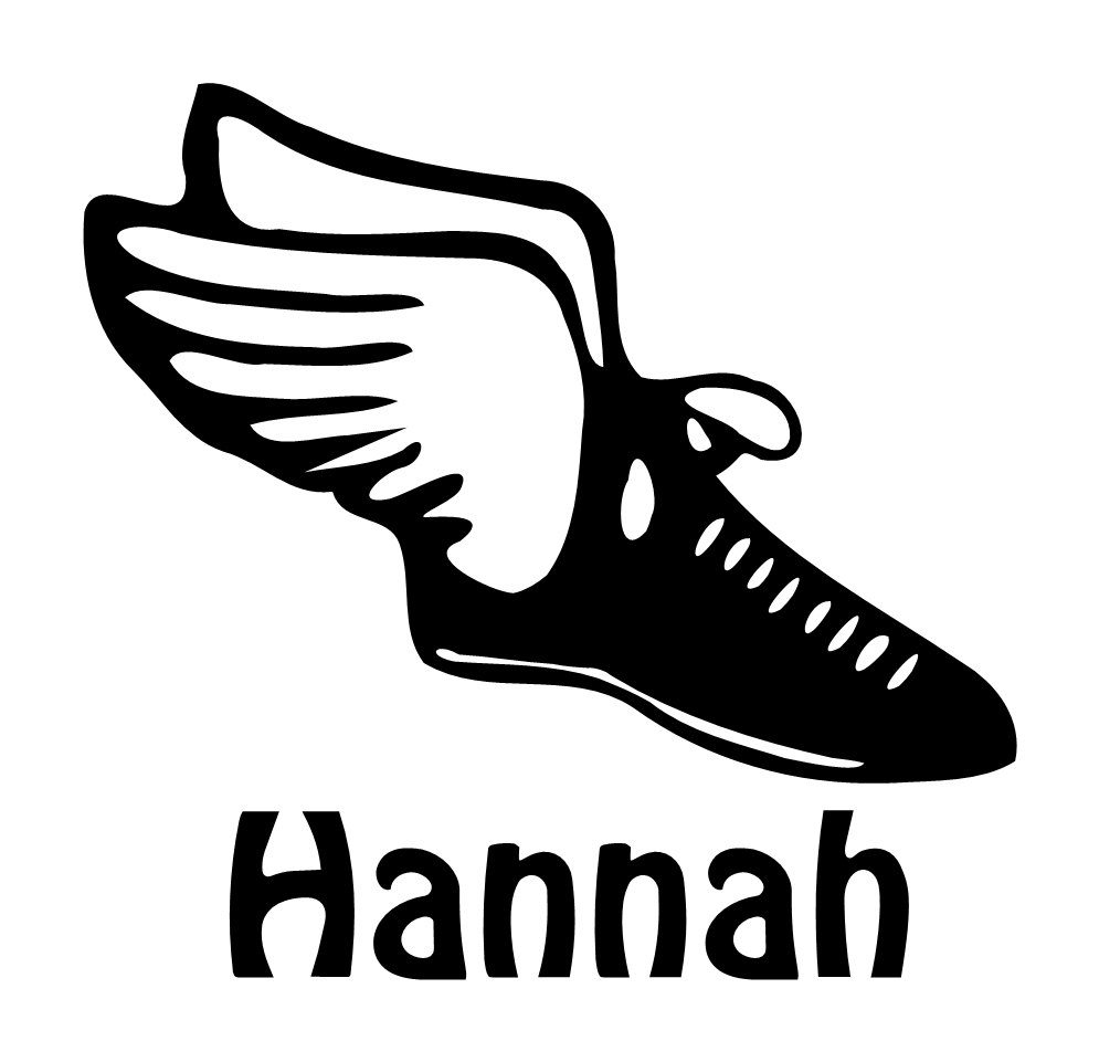 Track shoe with wings clipart 3