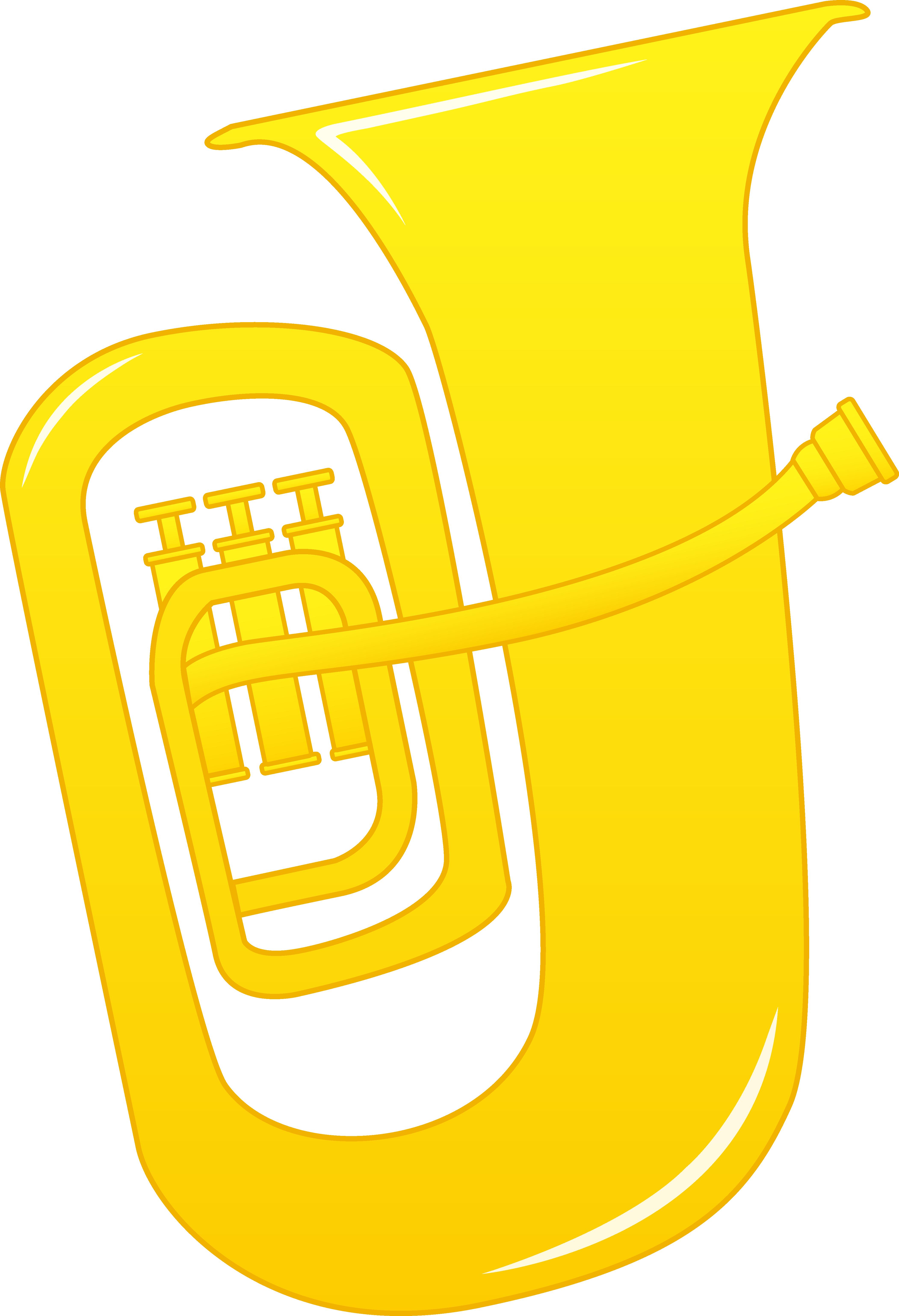 Tuba clip art design free