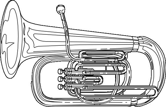 Tuba clipart 3 image 2