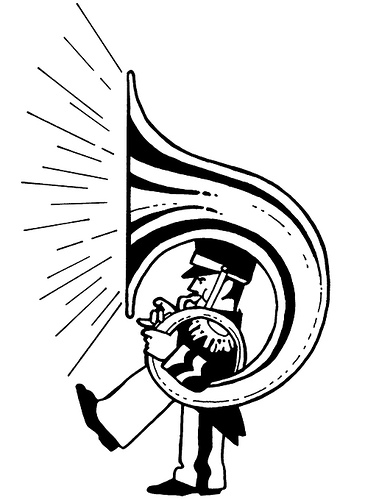 Tuba clipart free images image