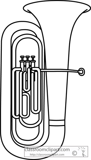 Tuba clipart image