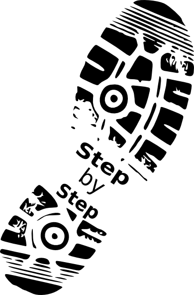 Walking feet clip art 10