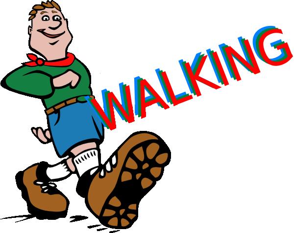 Walking feet clip art 3