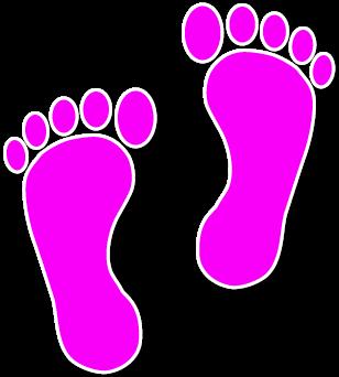 Walking feet clip art dfiles