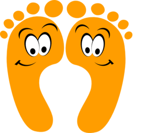 Walking feet foot clipart free download clip art on