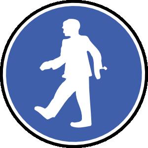 Walking feet walk on feet clip art at vector clip art