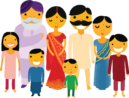A big family clipart clipartfest