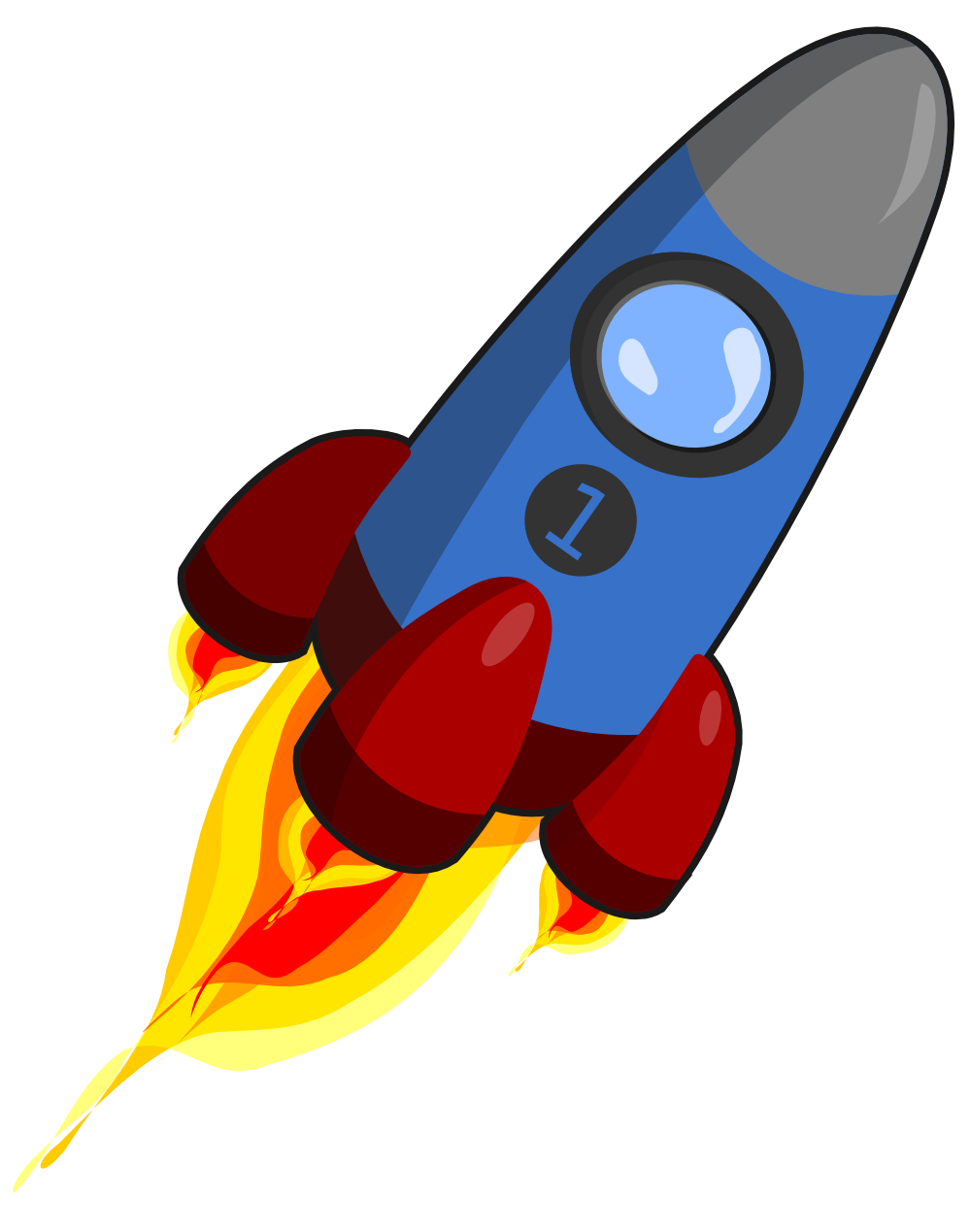 A rocket clipart clipartfest