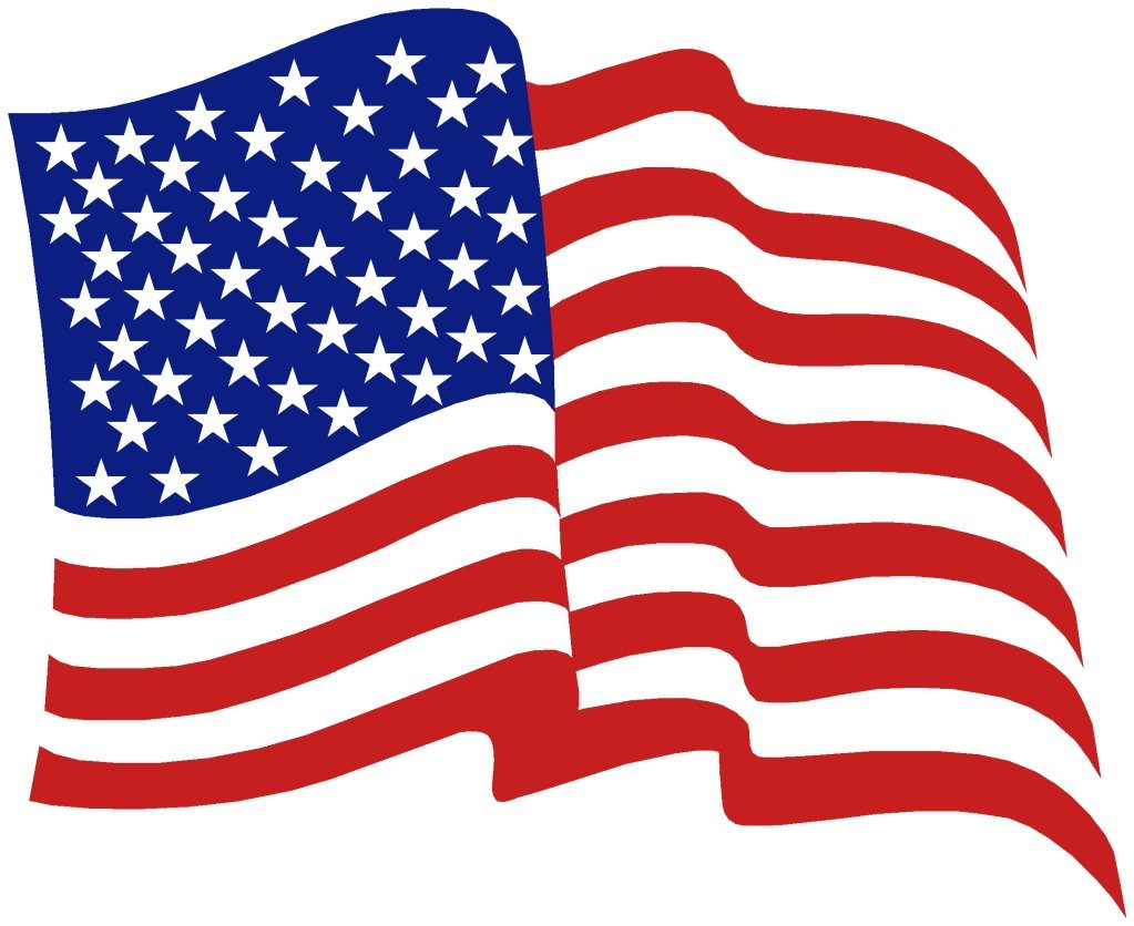 American flag free clip art clipart 2