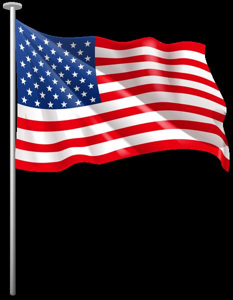 American flag free clip art clipart 3