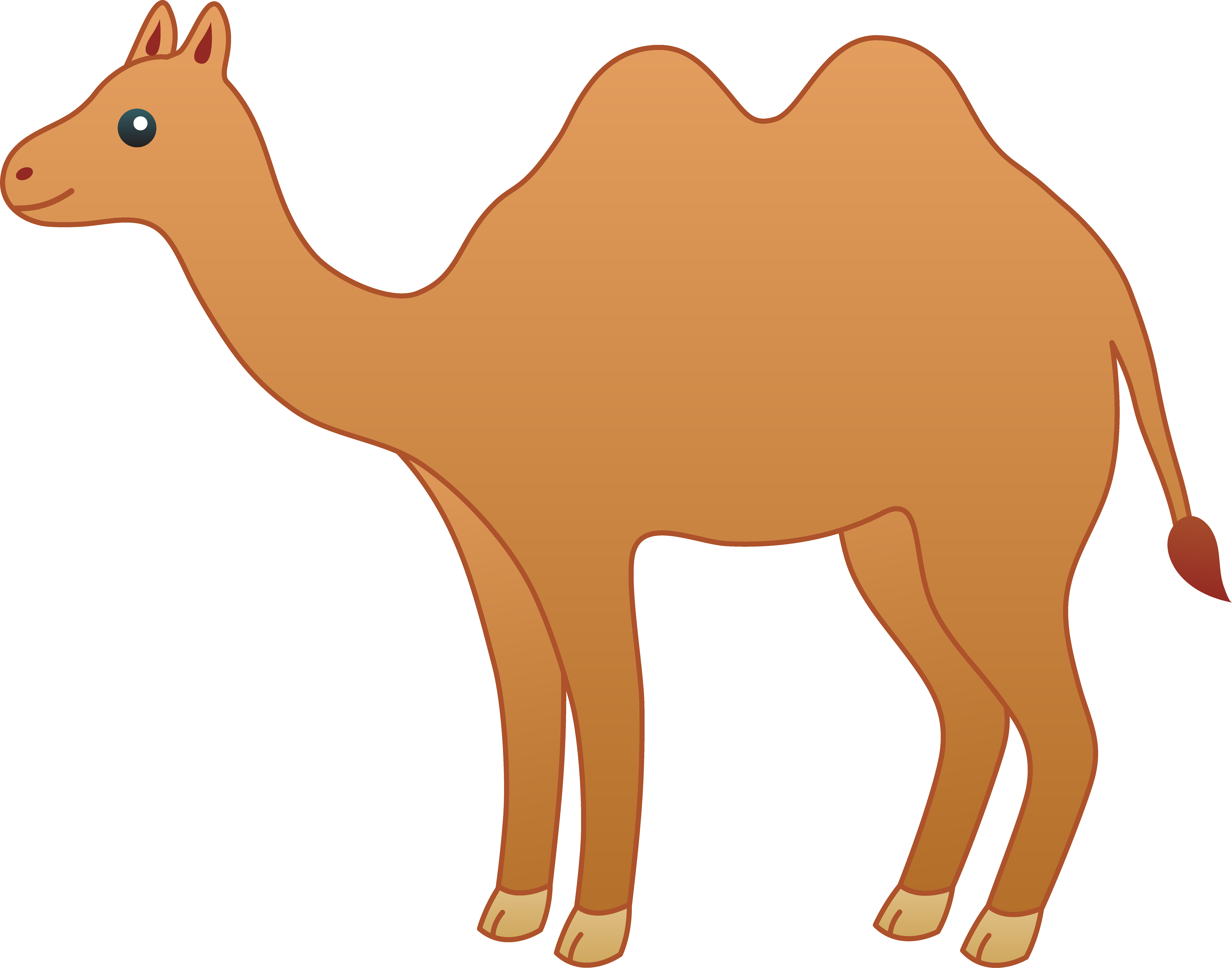 Animated camel clipart clipartfest