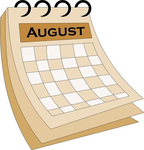 August clipart 12
