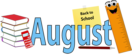 August clipart 2