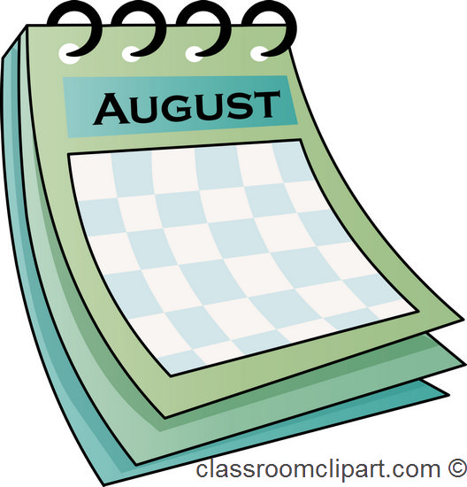 August clipart 8 2
