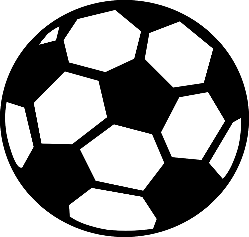Ball clipart black and white free images 2