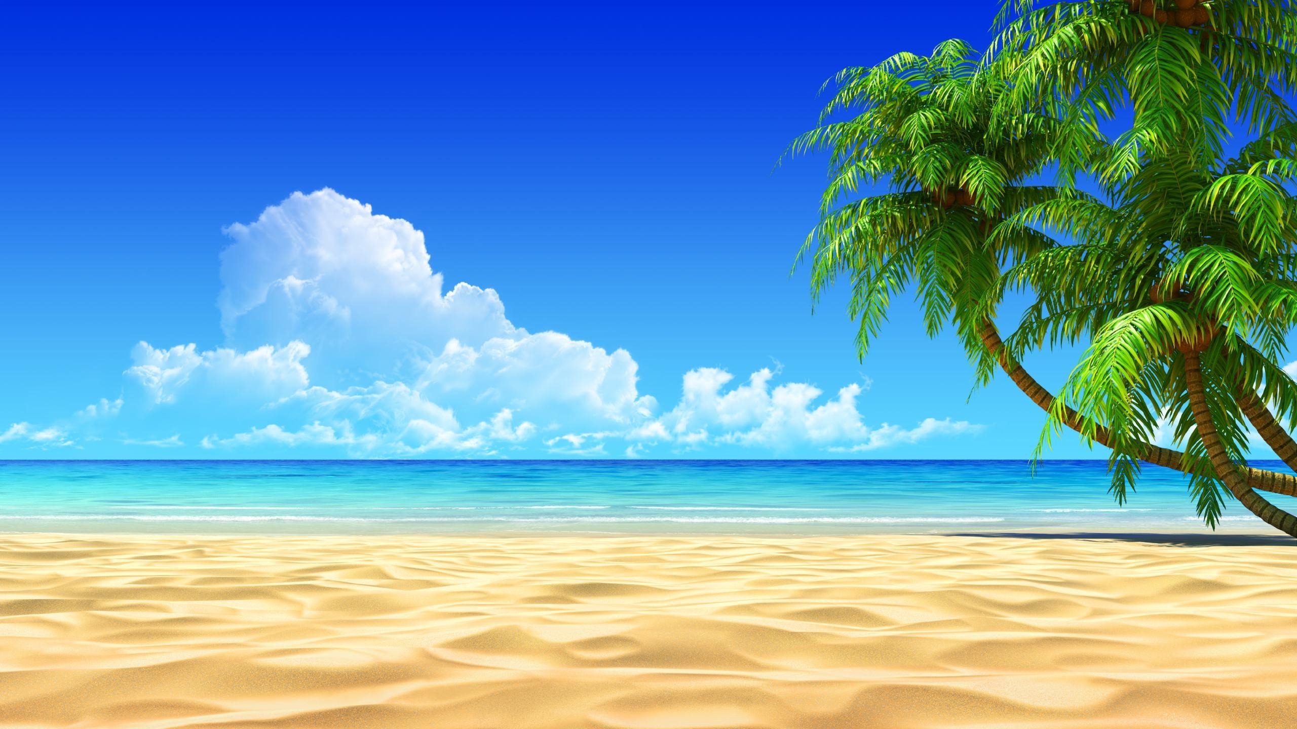 Beach island clipart 2