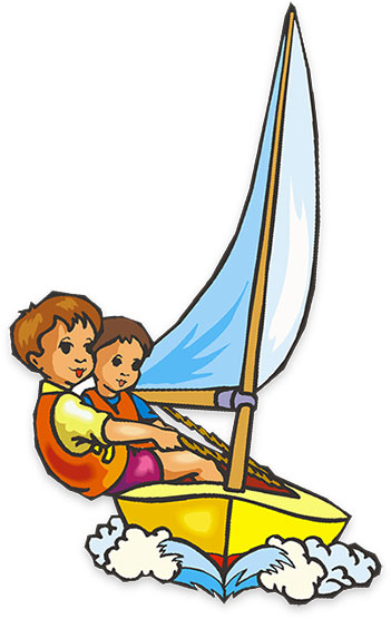 Boat clipart rowboats and sailboats