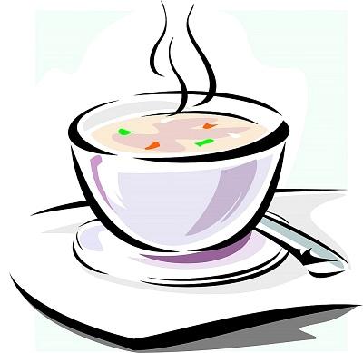 Bowl of soup clipart 2